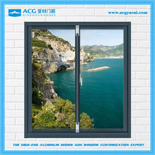 Professional manufacturer Fashionable frosted glass sliding window