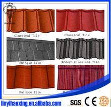 High quality shingle roofing tiles /spanish roof tile/villa roofing tile