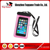 For Apple iPhones Compatible Brand and PVC Material waterproof bags