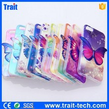 3D Image Back Cover Case for iPhone 5 5S, TPU Butterfly