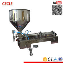 Professional FF6-600 manual cream filling machine with foot pedal