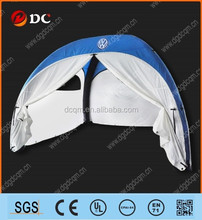 Extra inflatable large Blue frame tent for activity show