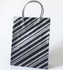 HDPE / LDPE Hard Loop Plastic Handle Bag For Christmas Gift
