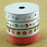 Customized hot sale glow in the dark printed ribbon