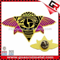 Good quality hot sell butterfly lapel pins