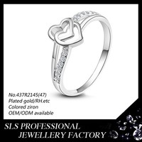 HK/EU/US 6mm 10mm size Womens ring Solid 925 Sterling Silver ring CZ Micro Paved wholesale fashion Engagement Ring