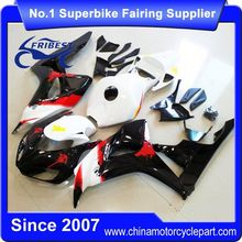 FFKHD020 China Fairings Motorcycle For CBR1000RR 2006 2007 White Black With No Sticker