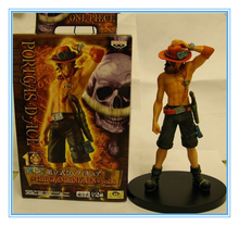 Hot anime ONE PIECE action figure Luffy+ Ace Hot anime action figures sets of 2pcs