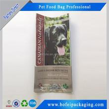 Eco-friendly Stand Plastic Packaging Bag with Custom Design/Dog Food Packaging Bag/ Pet Food Bag