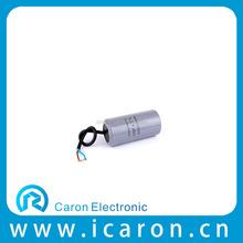 split ac unpolarized small round 600vac capacitor 4uf
