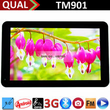 9 inch MTK8312 dual core tablet pc video calls Bluetooth FM GPS Full Function Android 4.4 C