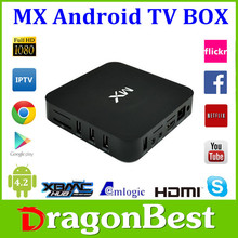 Original amlogic 8726 mx/mx2 tv box a9 dual core android smart tv box paypal & WU payment accept