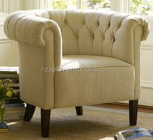 Antique europe style co-friendly diwan sofa sets