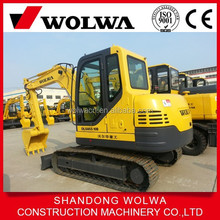 new condition 5.8 ton crawler excavator with cheap price