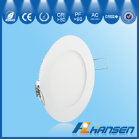 high brightness 18w 9 inch ip40 round recessed panel light led CE ROHS