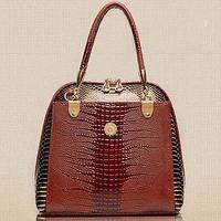 Best selling product in europe snake skin handbag crocodile designer handbag SY6811