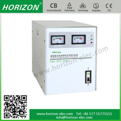 SVC 10kw single phase three phase home and industrial usage voltage regulator stabilizer