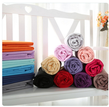 100% Cotton Solid Color Blanket Bedsheet Sets Hotel and home use