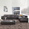 Italy Leather Sofa Section Living Room Furniture