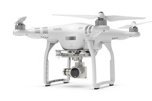 Dji phantom 3 advanced with visual positioning system powerful On the fly