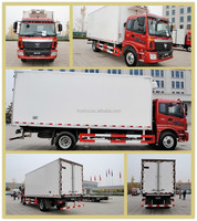 Quality Product Meat Refrigerator Truck China Direct Refrigerator Van Truck Foton 4x2 Refrigerator Box Truck