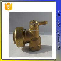 (2C-JE291) Lead Free Brass/ Stainless Steel Angle Seat Valve with Actuator