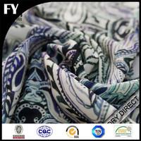 High quality digital print cotton moleskin fabric made in china