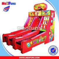 Ghost cricket bowling machine/ electronic bingo machine /amusement machine for sale