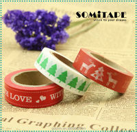 Tearable Sungjin Washi Paper Masking Tape For Card Crafting