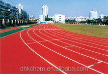 Polyurethane adhesive for running track-/court-invironmental protection