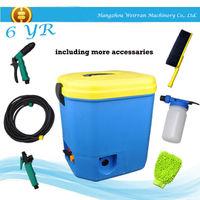 (0736) 16L tank mutipurpose 12V battery portative car pressure washer