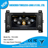 Car DVD player for Jeep Grand Cherokee 2011-2013 with built-in GPS A8 chipset RDS BT 3G/Wifi DSP Radio 20 dics momery(TID-C263)