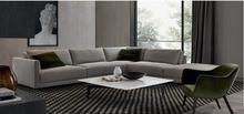 2015 european style new model sofa sets fabric corner sofa