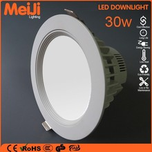 Hot selling quality high power led downlight 30w