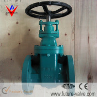 6 Inch Non-Rising Stem Metal Seated Gate Valve