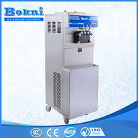 Hot selling commercial ice cream machine for sale BKN-B56, ice cream machine commercial with 2+1 mixed flavor