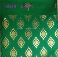 HD 118 green Latest design fashion high quality Head tie,african sego headtie,gele for celebration
