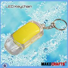 Lk - Si ( 55 ) moda colorido solar led keychain com o logotipo personalizado