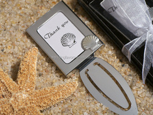 Seashell Party Favors - Photo Frame Bookmarks