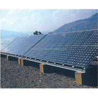 10KW solar panel roof mount system Solar System With Roof Rack industrial solar power generator