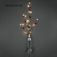 Wholesale Christmas Decorative Artificial Branch with LED Lighted