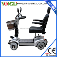 Outdoor recreation home use 4 wheel electric scooter for old people