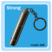4*AG13 battery low power stainless steel led mini torch