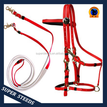 Great Quality Of PVC Endurance Racing Bridle With Brass Buckles