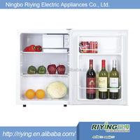 white mini freezer used