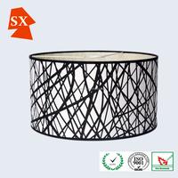bulk kerosene cylinder black chandelier metal white wire frame light shade