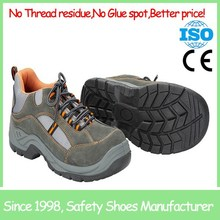SF19005 dark grey protective steel toe sport safety shoes low price cheap safety shoes