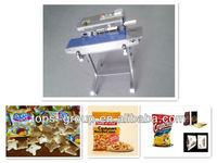 Full-automatic continuous tray printing bag sealing machine