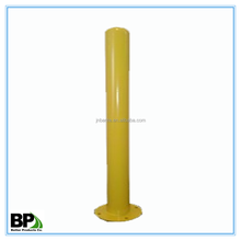 Industrial use steel bollards, quick shipment