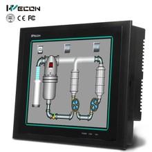 Wecon integrated plc hmi featured software funcitons,can replace weintek hmi,reasonable plc hmi price
